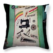 The Entrepreneur Throw Pillow