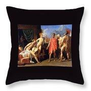 The Envoys Of Agamemnon Throw Pillow