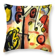 The Equation Throw Pillow