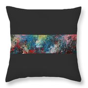 The Eruption Of Subduction Throw Pillow