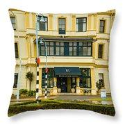 The Esplanade Hotel Auckland Throw Pillow
