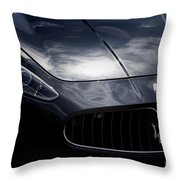 The Essence Of Maserati Throw Pillow