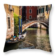 The Essence Of Venice Throw Pillow
