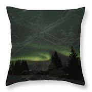 The Essence Of Winter Throw Pillow