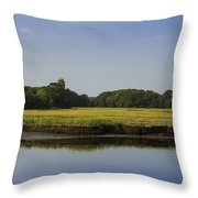 The Essex Marsh Throw Pillow