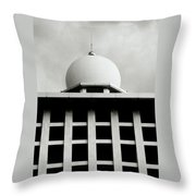The Ethereal Dome Throw Pillow