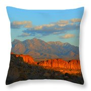 The Ever Changing Beauty Of Monolith Gardens Throw Pillow