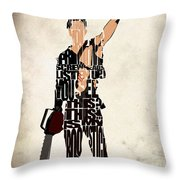 The Evil Dead - Bruce Campbell Throw Pillow