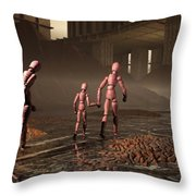 The Exiles Sojourn Throw Pillow