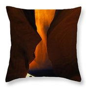 The Exit... Throw Pillow