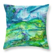 The Eydes Of March Throw Pillow