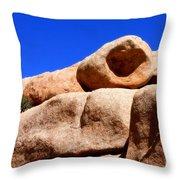 The Eye Of Joshua Tree By Diana Sainz Throw Pillow