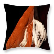 The Eye Of Lower Antelope Canyon Throw Pillow