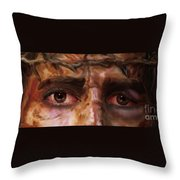 The Eyes Of Eternal Love Throw Pillow