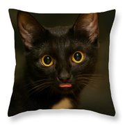 The Eyes Throw Pillow