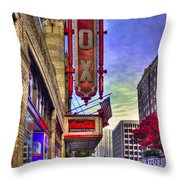 The Fabulous Fox Atlanta Georgia. Throw Pillow