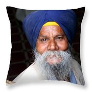The Face Of Serenity Throw Pillow