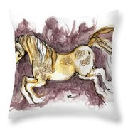 The Fairytale Horse 1 Throw Pillow