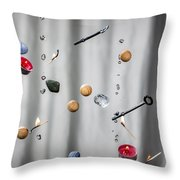 The Five Elements Throw Pillow