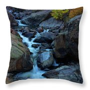 The Falls Of Fall Throw Pillow