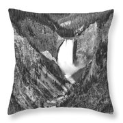 The Falls Power Throw Pillow by Jon Glaser