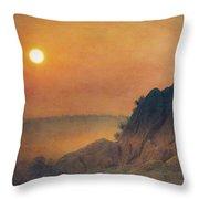 The False Lovers' Rock At Sunset Throw Pillow