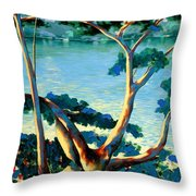 The Family Tree Throw Pillow