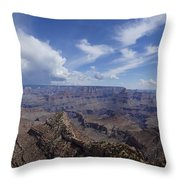 The Famous Grand Canyon Throw Pillow