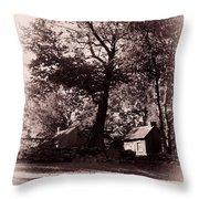 The Farm Bristol Rhode Island Throw Pillow