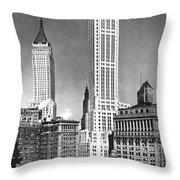 The Farmers Trust Building  Throw Pillow