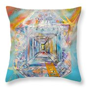 The Fathers House Throw Pillow