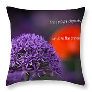 The Feature Throw Pillow