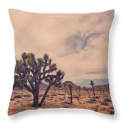 The Feeling Of Freedom Throw Pillow