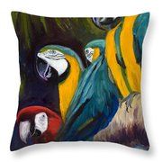The Feisty One Throw Pillow