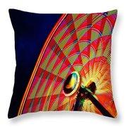 The Ferris Wheel 7/10/14 Throw Pillow