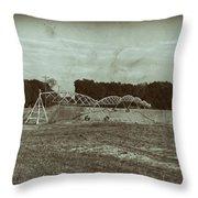 The Field Throw Pillow