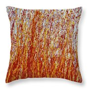The Fields Are Ripe ... Throw Pillow