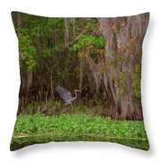 The Fight 5 Throw Pillow