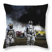 The Fight Is Over Throw Pillow