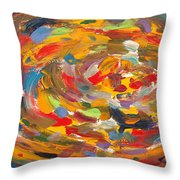 The Fine Art Of Pizza Making Throw Pillow