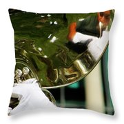 The Finest Tuba The Sweetest Sound Throw Pillow