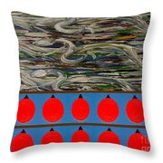The Finishing Line Throw Pillow