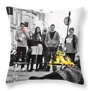 The Fire Untouchable 2 Throw Pillow