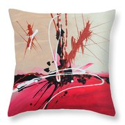 The Fire Within Coming Out Throw Pillow