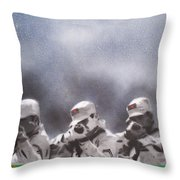 The Firing Squad Throw Pillow