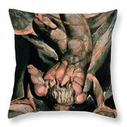 The First Book Of Urizen Throw Pillow