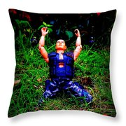 The First Casualty Of War Is Innocence Throw Pillow