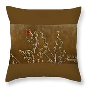 The First Days Of Spring  Throw Pillow