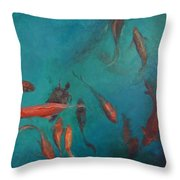 the Fish of Cabo Throw Pillow