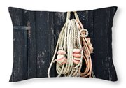 The Fisherman's House Throw Pillow